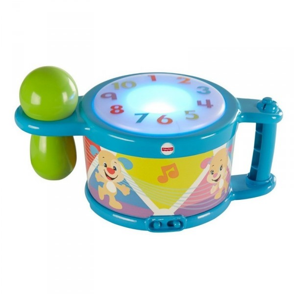 Музыкальная игрушка Fisher Price барабан atlas wallcoverings обои atlas 24 carat 5054 4