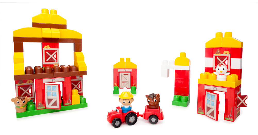 Конструктор First builders - Веселая ферма guide craft магнитный конструктор better builders career people