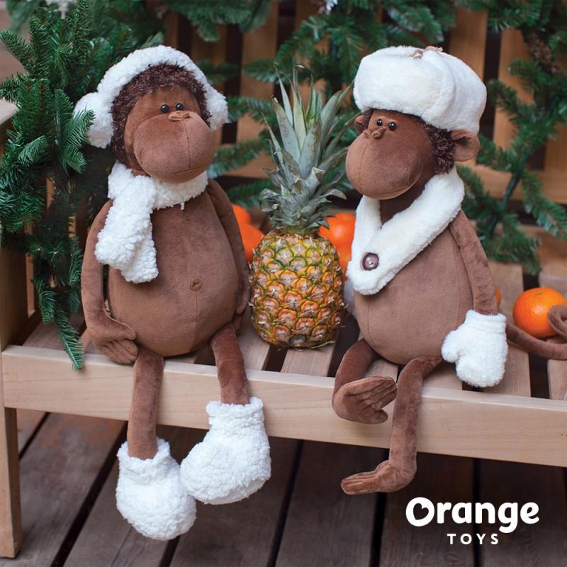 Обезьяна Николя 35 игрушки orange коза марфуша