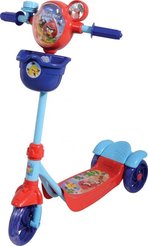 1toy Angry Birds Самокат 3-х колесныйTOY Angry Birds Т56863 - это яркий красочный самокат для детей 3 до 5 лет. Самокат научит держать равновесие вашего малыша, как никто лучше. С ним ребенок не когда не будет скучать.<br>
