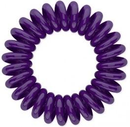 Резинка для волос Beauty Bar, фиолетовая резинка спиралька для волос