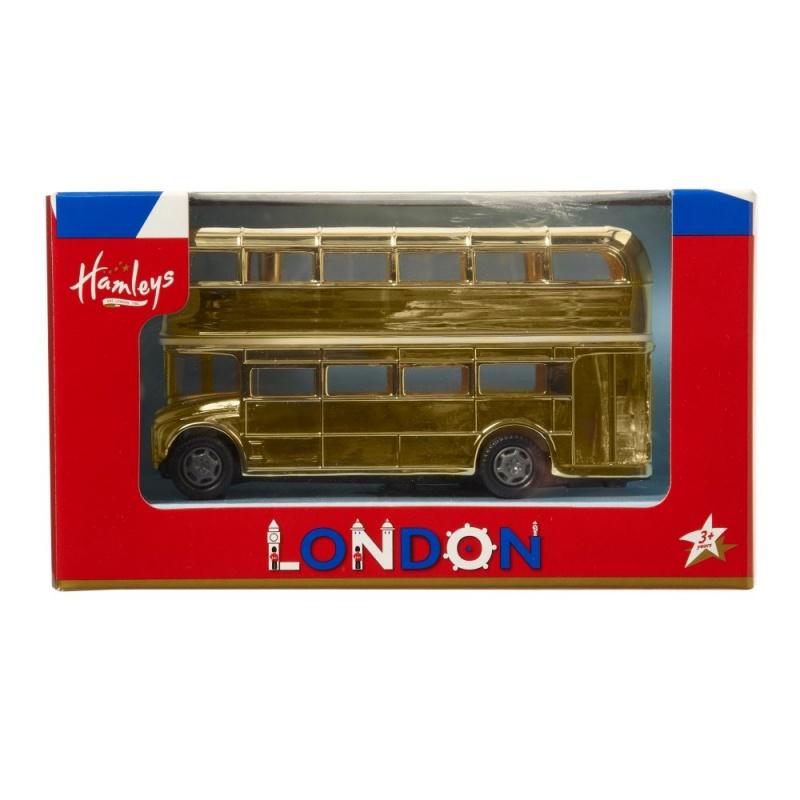 Игрушка машинка Hamleys Золотой автобус