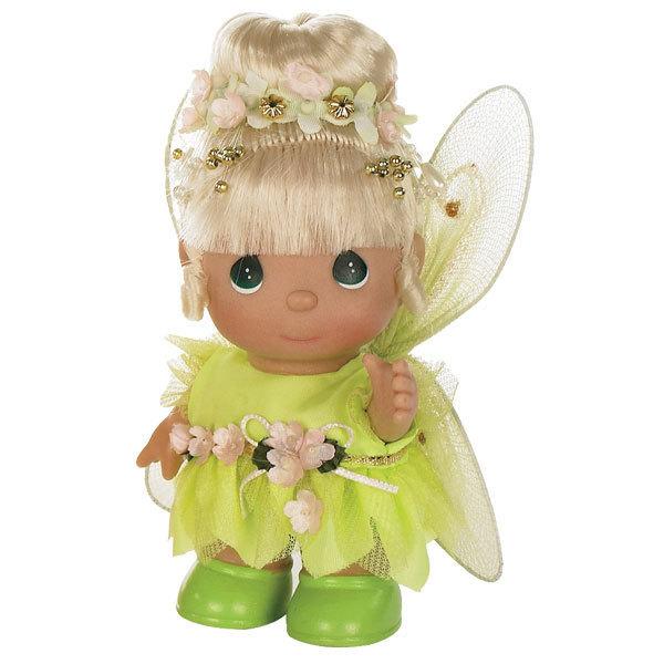 Кукла Precious Moments MINI Динь-Динь 14 смУдивительная коллекционная кукла не оставит равнодушным ни одного ценителя прекрасного.Большинство современных кукол Precious Moments изготавливаются целиком из винила и имеют 3 базовые точки артикуляции.Волосы у кукол сделаны из качественного синтетического волокна или крученых ниток, если того требует образ.Куклы одеты в нарядные костюмы, не перегруженные деталями и декором, однако выполненные с тем вниманием к нюансам, которое столь высоко ценится коллекционерами.Высота куклы: 14 см.<br>