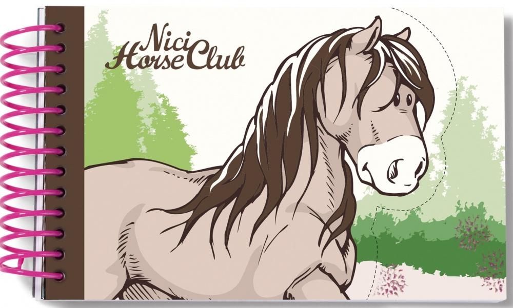 Брелок Nici Лошадь, серо-бежеваяБлокнот «Серо-бежевая лошадка» от компании Nici отлично подойдет для раскрытия творческих способностей ребенка. В блокнотике можно делать всяческие пометки, рисовать, писать стишки и рассказики. Внутри ребенка ждет сюрприз: 20 страничек в блокноте выполнены в форме лошадки! Удобный формат и стильный дизайн изделия обязательно придутся по душе ребенку, а количество листов в блокноте позволяет активно использовать его.<br>