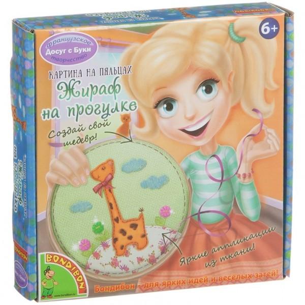 Картина на пяльцах Bondibon Жираф выкройки корсетов