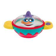 Игрушка музыкальная Кастрюлька СтэнС такой игрушкой малыш почувствует себя настоящим шеф-поваром! Поставьте игрушку на ровную поверхность, чтобы привести в действие звуковые и световые эффекты. Откройте крышку кастрюльки, положите яичницу  вы услышите забавные звуки. Веселые мелодии и огоньки развеселят малыша, пока он будет готовить свое первое блюдо. Крышка кастрюльки снимается, и готовую яичницу можно выложить на игрушечную тарелку. Батарейки: 3 LR44 Размер: 17 x 9 x 10 см<br>