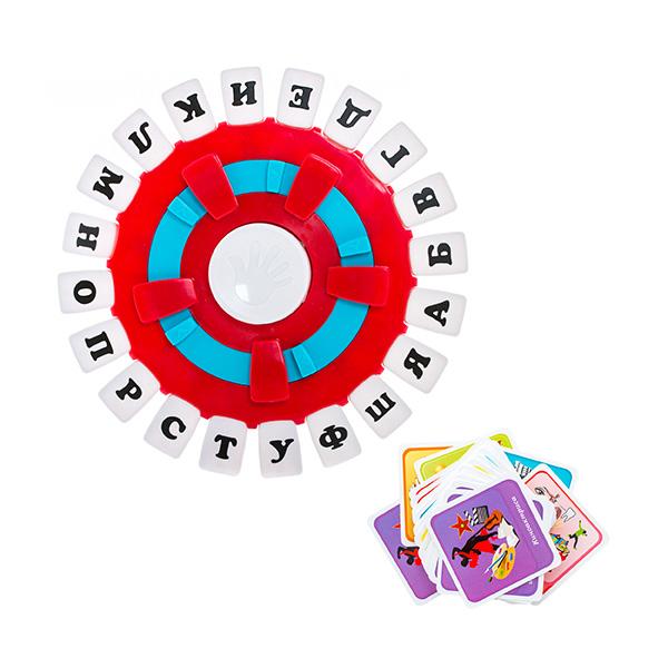 Игра настольная Слово за словомНастольная игра Слово за словом - это оригинальная современная интерпретация игры в слова, известной каждому. Игра предназначена для компании от 2 до 8 человек. Она представляет собой панель с расположенными на ней кнопками, на каждой из которых указаны буквы. В комплект входят карточки с указанными на них темами - игрокам предстоит сначала выбрать одну из них, а затем нажимают на кнопку, с которой начинается слово по выбранной теме и называют его. В этом-то и заключается главный интерес игры - чем меньше остается букв, тем сложнее выбрать слово. Выбывает из игры тот, кто слишком надолго задумался над словом - об этом его оповестит встроенный таймер.<br>