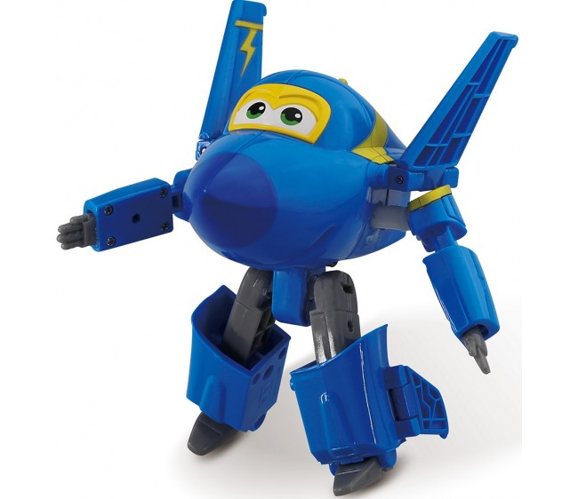 Трансформер Супер крылья - Джером, 10 смТрансформер Джером из серии Супер крылья выполнен в ярком цвете. Он без труда преобразится из милого самолетика в функционального робота, который всегда поможет в трудных ситуациях. Ноги и руки у него могут двигаться. Этот герой мультсериала очень добродушный и отзывчивый. Будет интересно разыгрывать сценарии, в которых игрушке необходимо трансформироваться, чтобы показать свои дополнительные возможности.Возраст: от 3 летДля мальчиковЦвет: синий.Материалы: пластик.Размер игрушки: 11.5 x 13 x 8 см.<br>