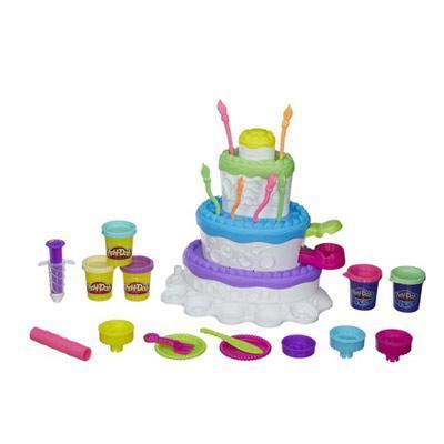 Play-Doh Игровой набор Праздничный торт play doh игровой набор праздничный торт