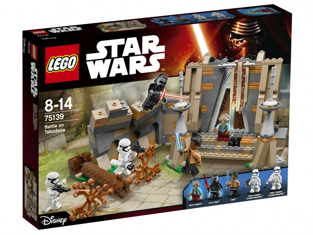 Конструктор Lego Star Wars 75139 Сражение на планете Такодана lego lego star wars 75139 битва планете такодана