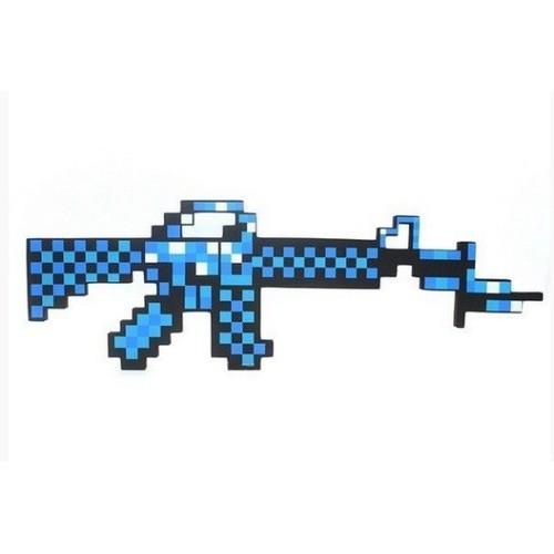 Автомат М16 8Бит синий пиксельный 62 см чери тиго автомат купить в томске
