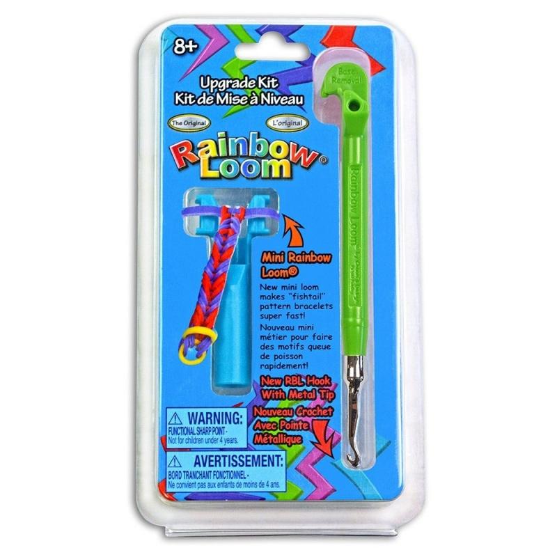 Набор для плетения: министанок с крючком, зеленыйНабор для плетения браслетов<br>