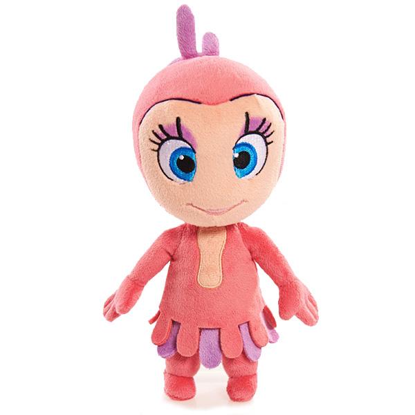 Игрушка плюшевая Катя и Мим-Мим - Лили, 20 см.Мягкая игрушка, выполненная в виде персонажа любимого мультфильма – это отличный выбор подарка на любой праздник!Плюшевая игрушка фантастического персонажа по имени Лили из популярного мультфильма для детей «Катя и Мим Мим» – вызовет улыбку и радость не только у поклонниц мультсериала, повествующего о путешествиях маленькой девочки и её друзей по стране фантазии Мимилу, но и абсолютно всех, кто любит милые, добрые плюшевые игрушки. Кукла изготовлена только из высококачественных мягких текстильных материалов, без использования пластиковых деталей. Симпатичное улыбчивое личико вышито цветными нитками, наполнитель – чистый гипоаллергенный синтепон. Высота игрушки 20 см.Благодаря отсутствию жестких деталей, игрушка совершенно безопасна даже для маленького ребенка, она очень приятна на ощупь, малыш может брать её с собой в кроватку без риска пораниться во сне.Игрушку можно стирать с использованием мягких моющих средств.<br>