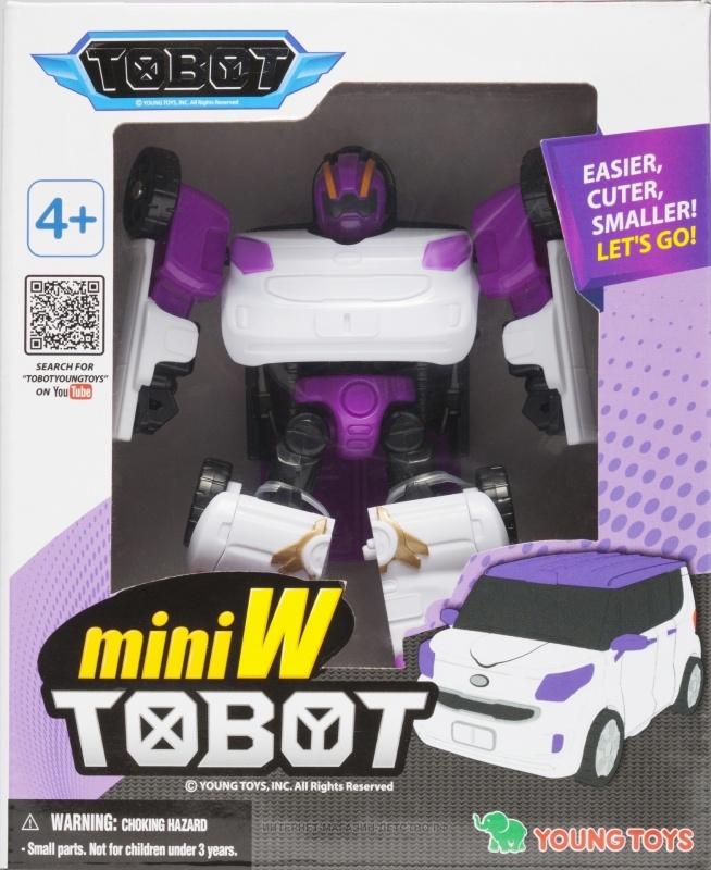 Купить со скидкой Трансформер MINI TOBOT W
