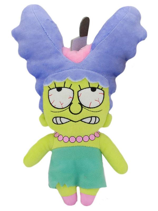 Купить Мягкая игрушка Simpsons Zombie Marge 20 см