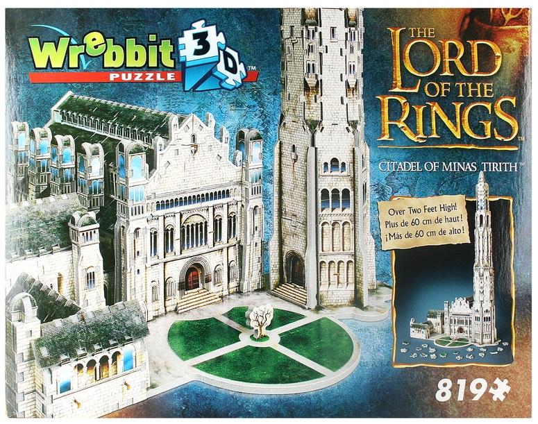 Купить 3D пазл Wrebbit Цитадель Минас Тирита , 819 деталей