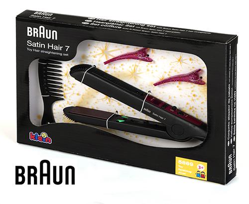 BRAUN SATIN HAIR Набор стилиста: Выпрямитель для волос, аксессуары выпрямитель волос braun st 550