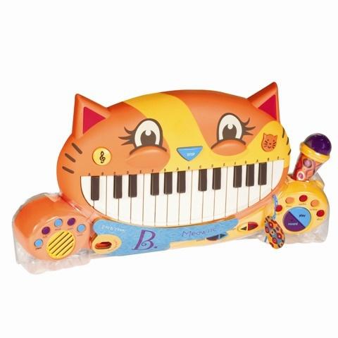 Мини-пианино Battat игрушечное battat b dot набор веселые колечки