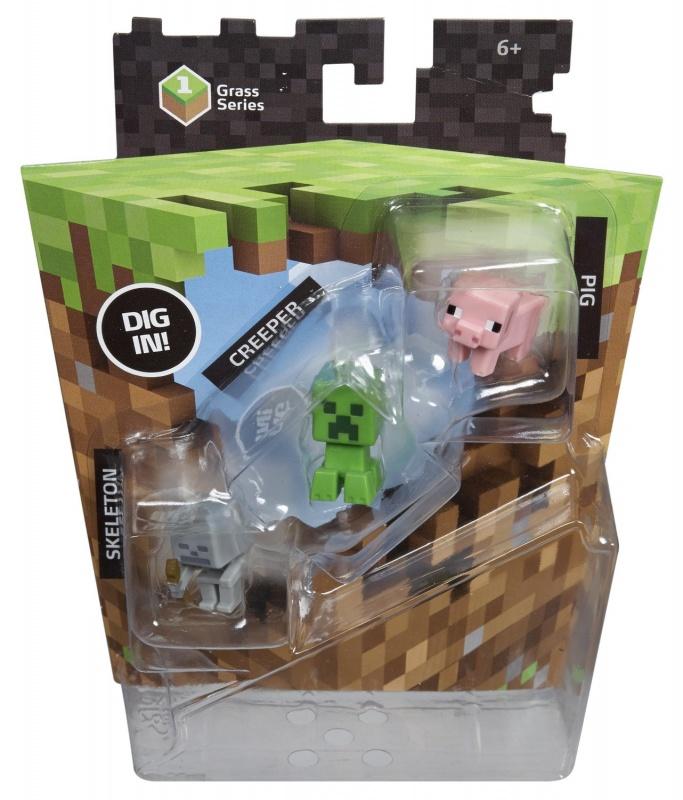 Набор фигурок Minecraft mini-figures Creeper set 1 серияНабор коллекционных фигурок Minecraft Creeper set, станет отличным подарком любому фанату компьютерной игры.<br>