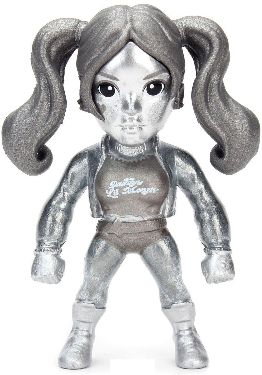 Фигурка металлическая Harley Quinn Chase 6 смМеталлическая мини фигурка персонажа вселенной DC Comics. Харли Квинн металлизированная без покраски из фильма Отряд самоубийц<br>