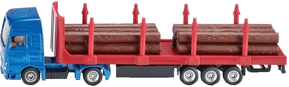 Тягач с платформой с бревнами куплю седельный тягач в сцепке б у