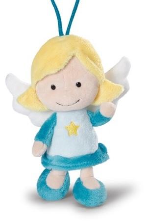 Мягкая игрушка Ангел-хранитель, голубой, с петелькой, 15 смМягкая игрушка «Ангел-хранитель» - это замечательный подарок для вашего ребенка. Представленная модель может быть использована как для коллекционирования, так и для сюжетно-ролевых игр, с помощью которых малыш может развивать воображение, фантазию и сообразительность. Игрушку очень приятно держать в руках, благодаря чему она подходит даже для самых маленьких, способствуя развитию тактильных ощущений, мелкой моторики рук и других базовых навыков.МатериалыМягкая игрушка «Ангел-хранитель» изготавливается их экологически чистых материалов. Благодаря этому исключаются нежелательные воздействия на организм, в том числе аллергические реакции и раздражения на коже. Заказ и доставкаВы сможете приобрести игрушку, обратившись в один из наших магазинов, которые находятся в Москве или Санкт-Петербурге. Если вы являетесь жителем любого другого региона страны, вы сможете оформить быструю доставку.<br>