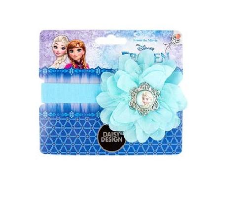 Ободок Frozen - Голубой цветокСтильный ободок от компании Daysy Design, украшенный красивым голубым цветком, приведет в восторг любую юную модницу. Если украсить прическу таким красивым аксессуаром, то это непременно придаст образу нежности и романтичности. Нежно-голубой цвет ободка универсален и подходит практически под любую одежду.<br>