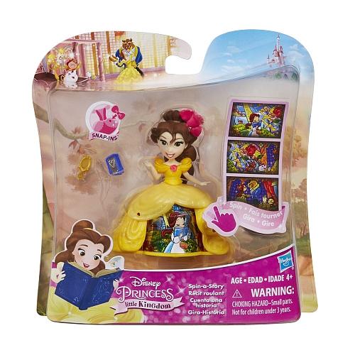 Кукла Disney Princess «Маленькая кукла принцесса» в платье с волшебной юбкой, в ассортиментеКукла Disney Princess «Маленькая кукла принцесса» в платье с волшебной юбкой - чудесный подарок для малышки! Куколка имеет невероятную возможность прокручивать на своем платье три ключевые сцены из мультфильма, что делает каждую новую придуманную и проигранную историю разнообразной и интересной. Высокодетализированная игрушка, несомненно, впечатлит маленькую непоседу и она с интересом погрузится в сказочный мир любимых красавиц-принцесс!<br>