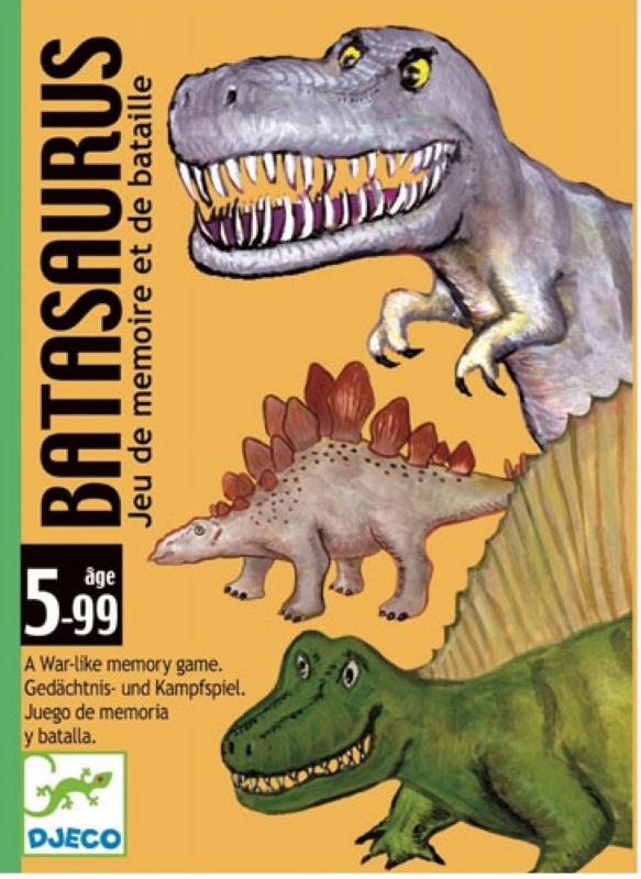 Купить Настольная карточная игра Djeco Динозавры