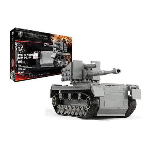 Конструктор World of Tanks - Waffentrager Auf Pz. IV, 256 деталей world of tanks официальный сайт золото за смс