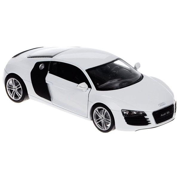 Игрушка модель машины 1:24 Audi R8 welly 24065 велли модель машины 1 24 audi r8 v10