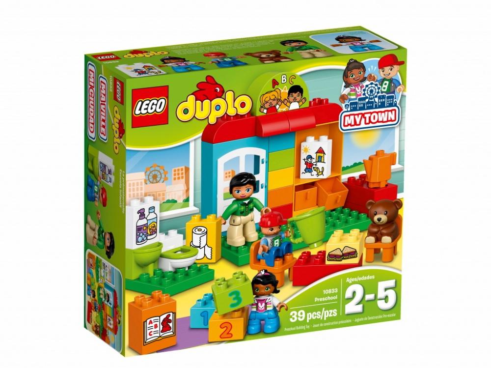 Конструктор Lego Duplo Town 10833 Детский сад lego duplo детский сад 10833