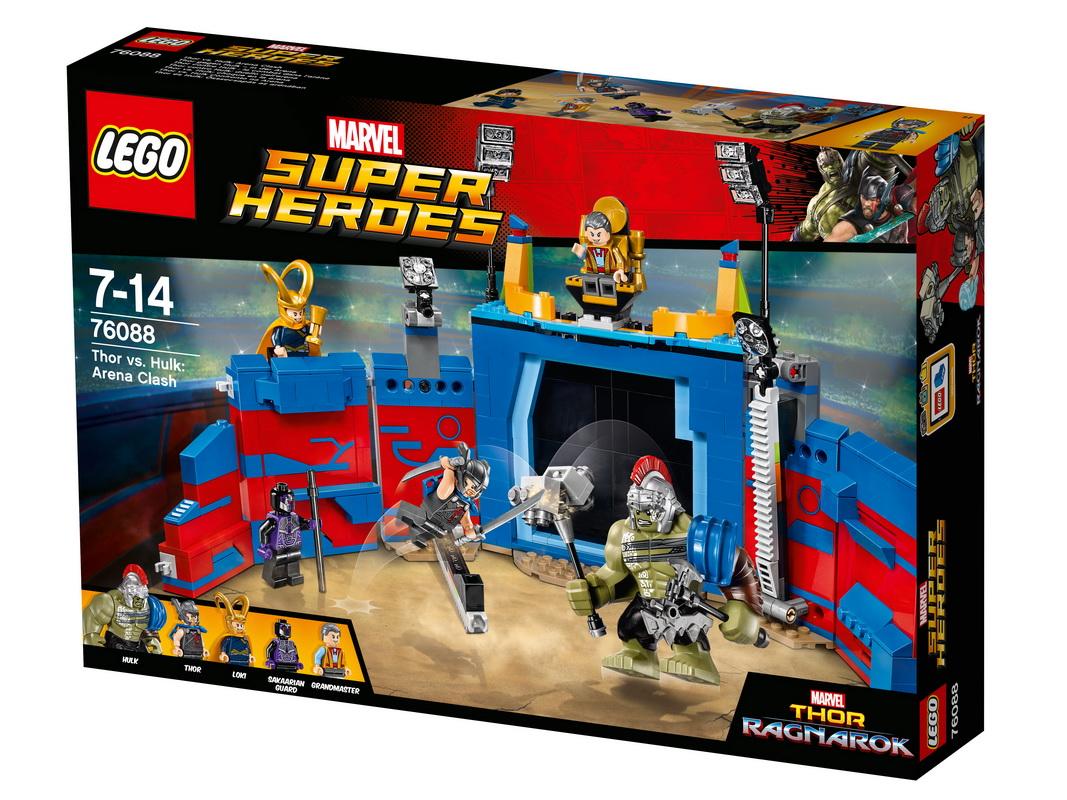 Купить Конструктор Lego Super Heroes Тор против Халка: Бой на арене