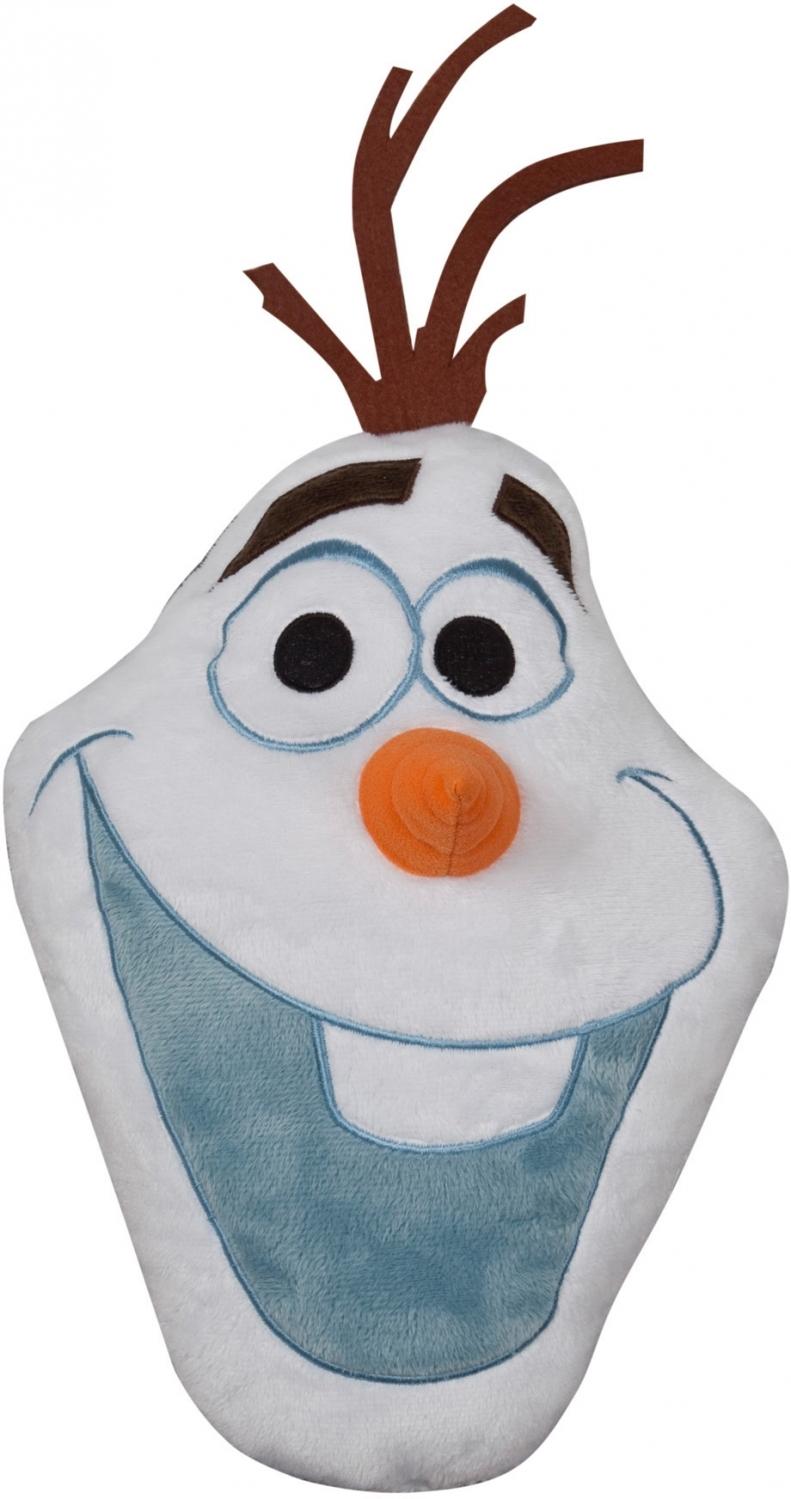 Подушка Frozen (Холодное сердце)-Olaf, размер 30 смДетская декоративная подушка Disney Olaf может использоваться в качестве элемента декора в вашем доме, а также станет настоящей игрушкой для вашего малыша. Данная текстильная продукция занимает высокие позиции на потребительском рынке благодаря своему оригинальному дизайну и безопасным материалам.<br>