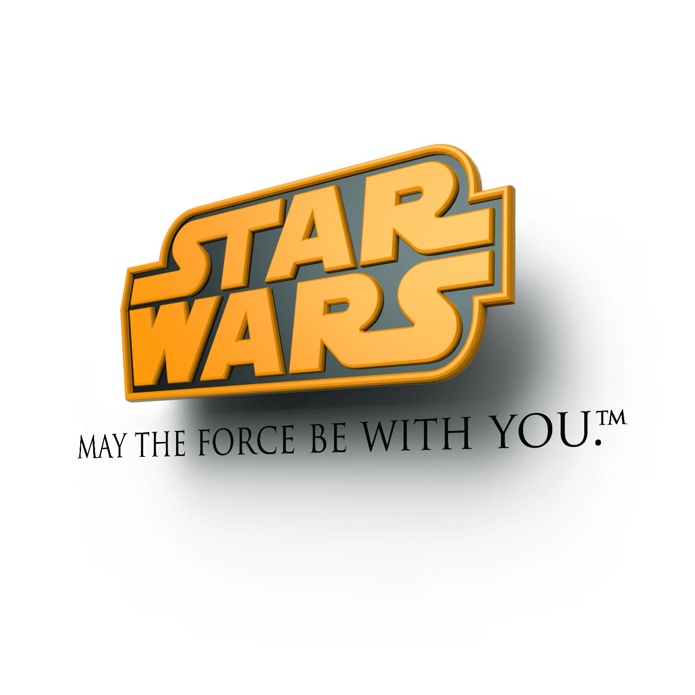 Светильник 3D Star Wars Logo