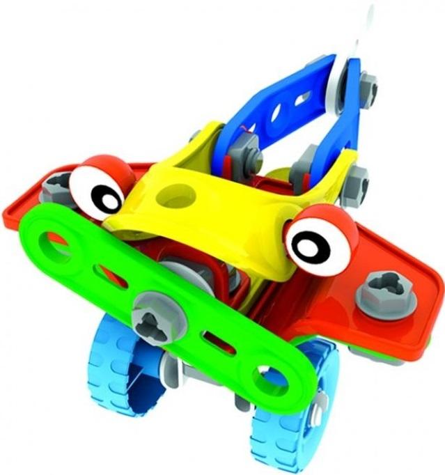 Конструктор Bebelot Basic Авиа техника и Марсоходы, 6 в 1 игрушка для активного отдыха bebelot захват beb1106 045