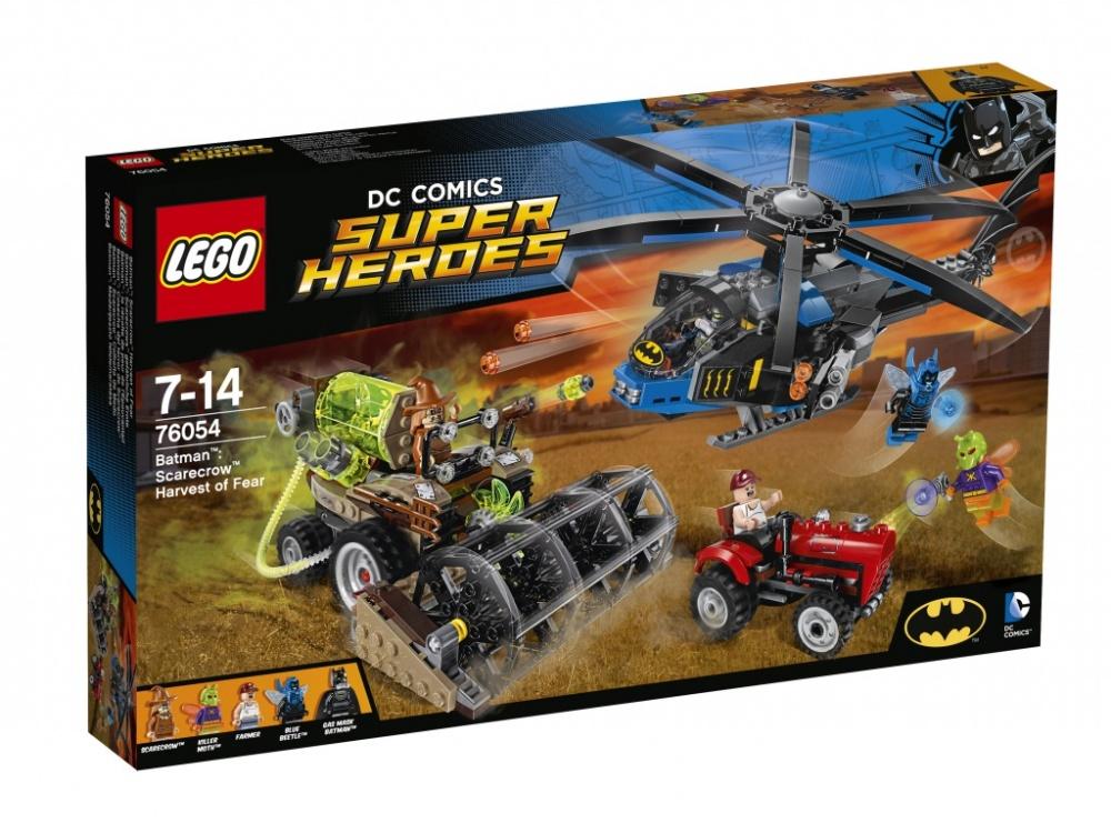 Конструктор Lego Super Heroes 76054 Бэтмен Жатва страха конструктор lego super heroes 76054 бэтмен жатва страха