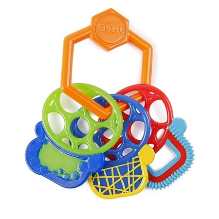 Прорезыватель для зубок Разноцветные ключики прорезыватели oball прорезыватель разноцветные ключики