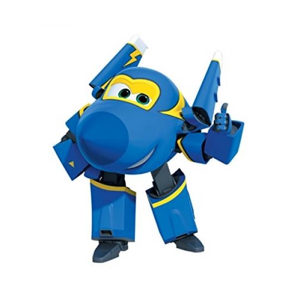 Конструктор 2 в 1 Супер Крылья - Джером, 109 деталейКонструктор Джером из серии Супер Крылья представляет собой игрушку в виде одного из персонажей одноименного детского мультфильма, повествующего о приключениях отважных самолетов-спасателей. Благодаря функциональному конструктивному решению фигурку Джерома можно перестраивать, превращая или в летательный аппарат, или в стильного робота.<br>