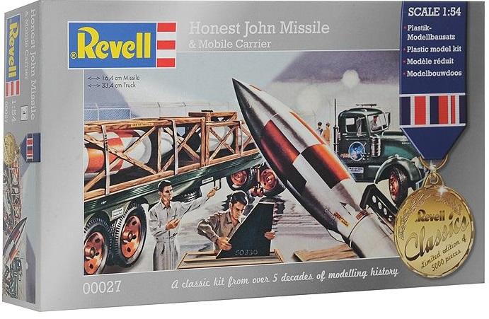 Ракета Revell Honest John с ракетовозом omoikiri tovada oto 49 1 in