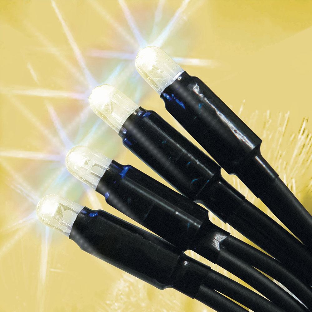 Электрогирлянда Нить 50 теплых белых LED 5 м с блоком питания от сети Для исп снаружи и внутр помОписание пока не добавлено<br>