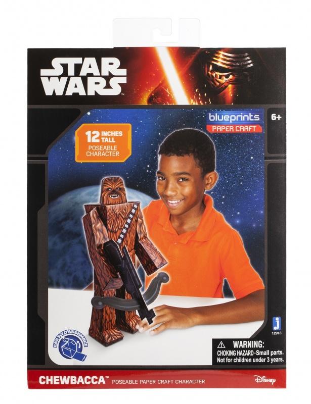 Купить Jazwares Star Wars Сувенирная продукция. Конструктор из бумаги Star Wars Chewbacca