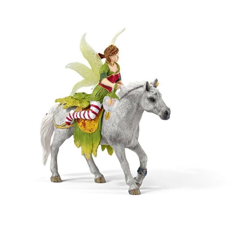Эльфы. МарвенЕсли у вас в доме растет маленькая девочка, то ей обязательно понравится Эльфы и одна из их представительниц - Марвен. Яркая волшебница одета в красивые одежды и меха, за спиной у нее нежные белые крылышки. Она восседает на белом прекрасном коне с роскошной гривой и длинным хвостом. Ребенок может придумать с этой фигуркой множество тематических игр и создавать целые истории, забавляясь с маленькой подружкой.Характеристики игрушки Эльф МарвенМодель изготовлена из материалов самого высокого качества. Это пластик, который не содержит вредных для здоровья соединений. Изделие не имеет острых зазубрин и не навредит вашему ребенку. Игрушка предназначена для детей старше 3 лет.Где купить фигурку Эльф Марвен недорого?Наш интернет-магазин предлагает своим клиентам заказать и купить игрушку Эльф Марвен на коне. Доставка осуществляется по городу, области и всей России.<br>