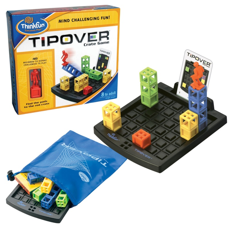 Кубическая головоломка (развивающая игра)Цель игры:Опрокидывая кубические башни, акробат должен добраться до красного куба, не коснувшись ногой земли.Простые правила и понятные цели игры.В каждой игре 40 вариантов заданий различного уровня сложности.Каждая игра снабжена удобным мешочком для транспортировки и хранения.Для детей от 8-и лет.<br>
