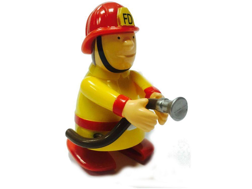 Игрушка заводная Надежный пожарникЗаводная игрушка Надежный пожарник сделает игры Вашего ребенка веселыми и полезными!Развивает мелкую моторику, стимулирует ребенка к активным действиям.Игрушка имеет механический завод. Для запуска, придерживая игрушку, поверните заводной ключ по часовой стрелке до упора. Опустите игрушку на горизонтальную поверхность и она начнет двигаться.<br>