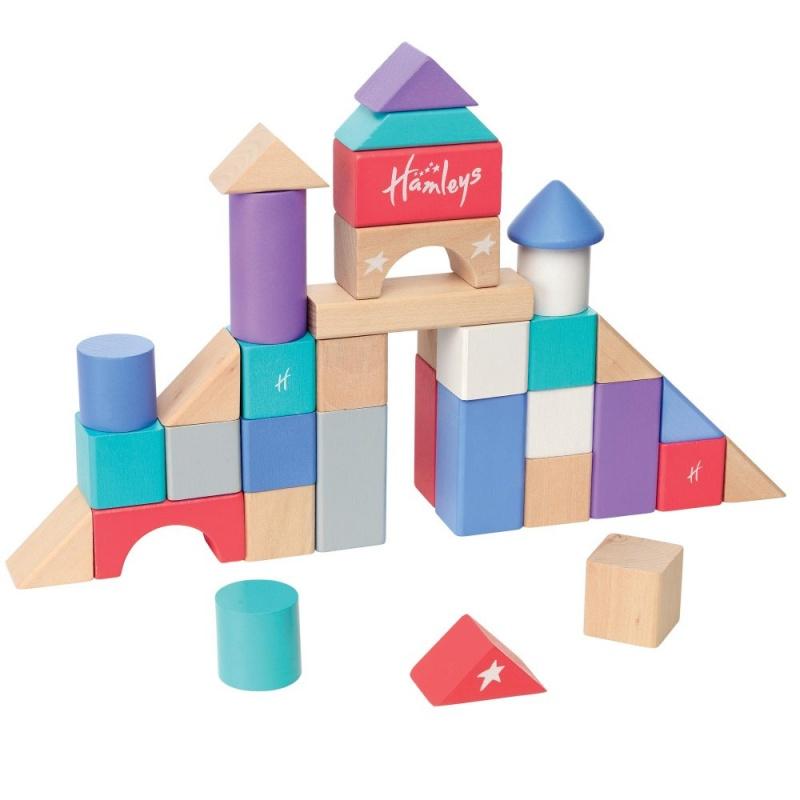 Игрушка деревянная Детская площадка - 100 кубиковПодарите вашим детям чудесные развивающие игрушки от Hamleys.<br>