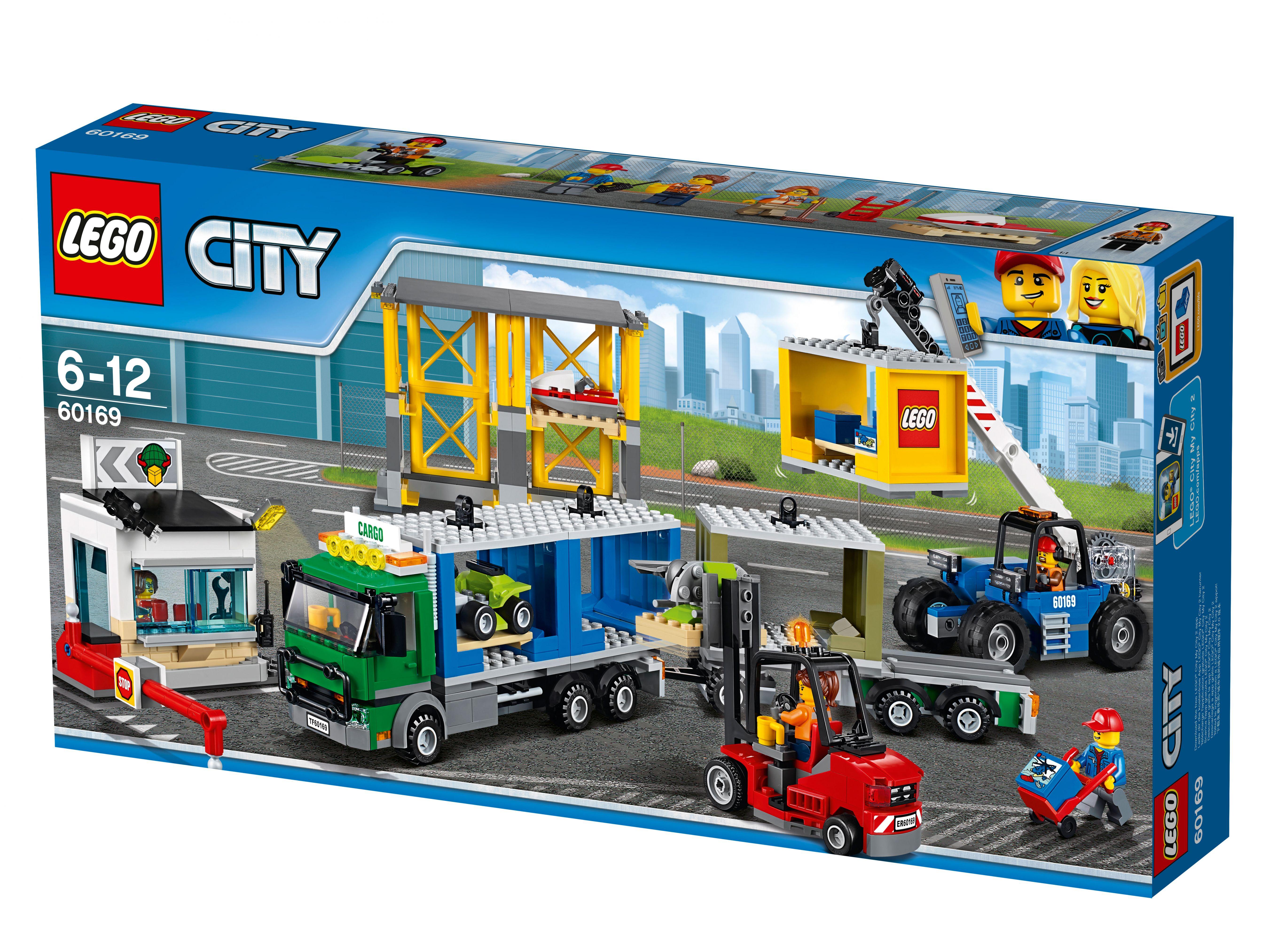 60169 City Town Грузовой терминал