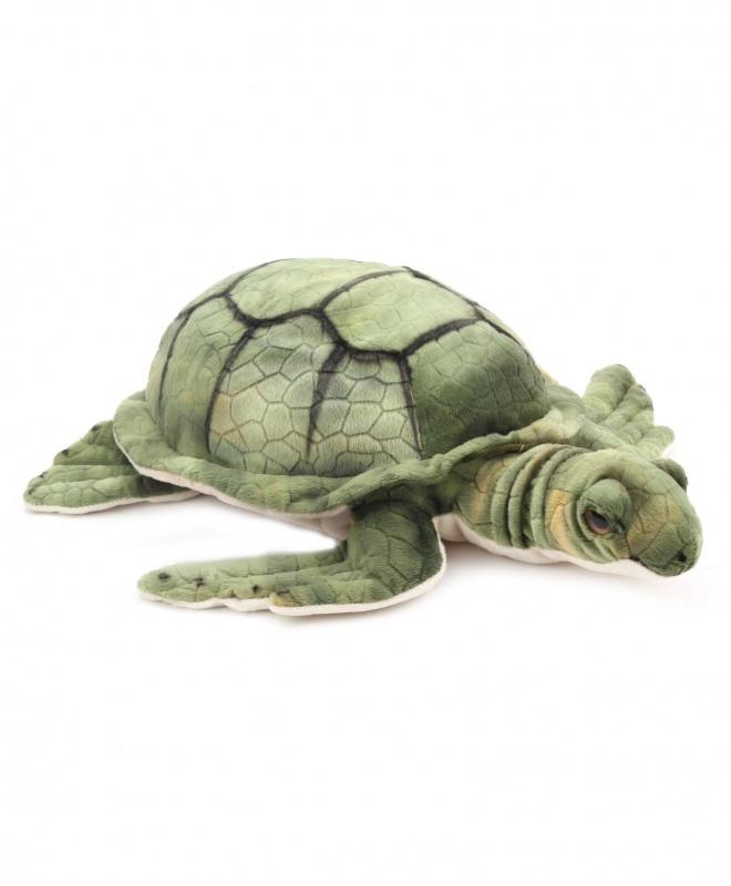 Игрушка плюшевая Морская черепахаЗнаете ли вы, что черепахи могут скрыть свои головы внутри их панциря, когда подвергаются нападению хищников? Некоторых мальчиков и девочек с детства увлекает животный мир. Изготовленные из лучших материалов с особым вниманием к деталям.<br>