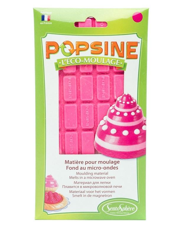Дополнительный набор для творчества POPSINE 110 г, розовая карамелька наборы для лепки sentosphere дополнительный набор для творчества popsine 110 г