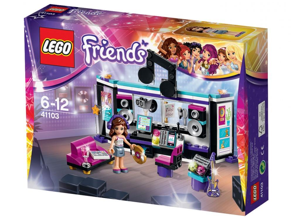 Конструктор Lego Friends 41103 Поп звезда: студия звукозаписи lego поп звезда дом ливи 41135